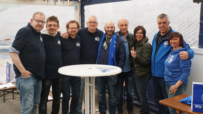 10 Jahre Jubiläum des Deaf Schalke Fanclubs